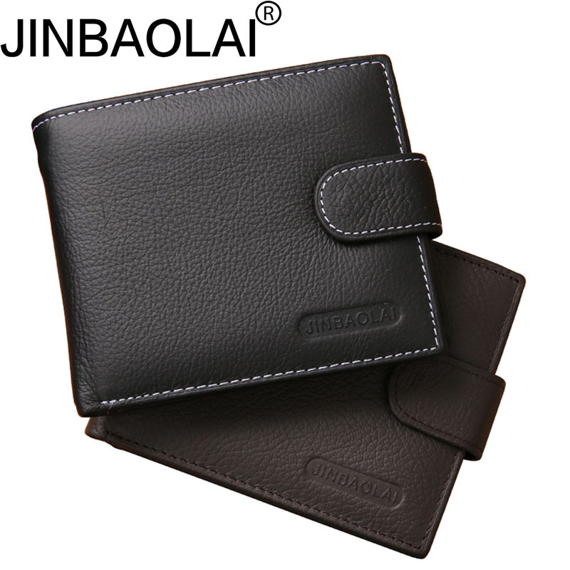 Coffee Black Men Wallets Luxury Brand 100% Genuine Leather Male Money Purses New Classic Soild Pattern Designer Soft ID Card bvp luxury brand weave plain top grain cowhide leather designer daily men long wallets purse money organizer j50