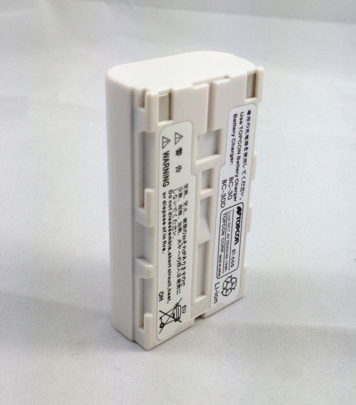 NEW TOPCON BT-66Q Battery for Topcon total stations 7.4V 2500mAh bt 65q battery for topcon gts 750 gpt 7500 total stations