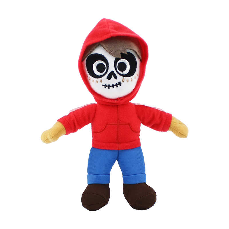 Movie COCO Miguel Hector pluszowa zabawka nadziewane miękkie pies lalki 17 ~ 23 cm