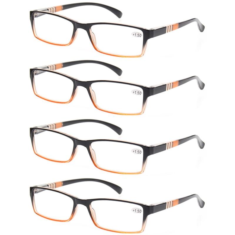 Lesebrille Mode Metall Halbrahmen Brille Retro Runde Rahmen Männer - Bekleidungszubehör - Foto 5