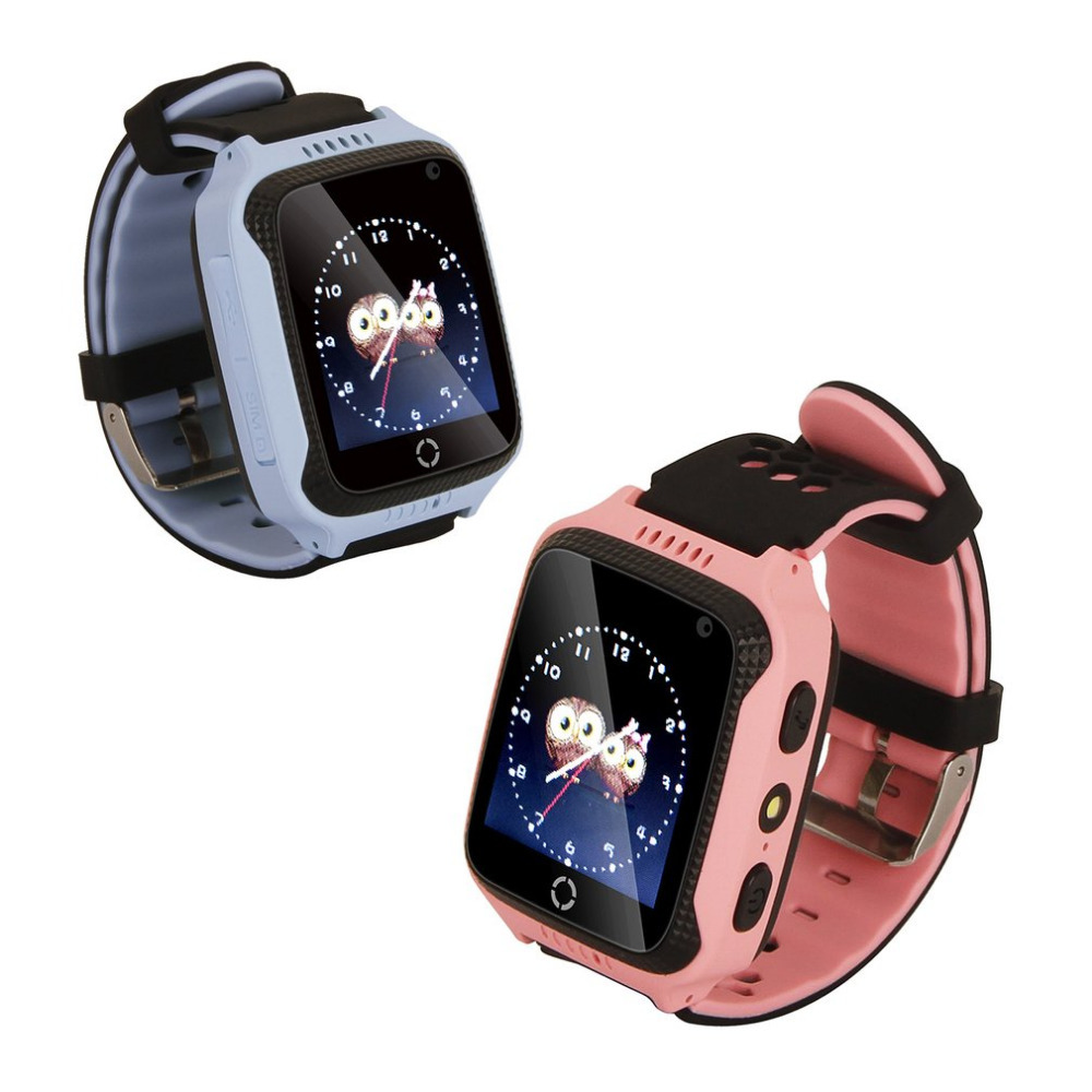 M05 Smart Watch for Children Kids GPS Positioning Real-time Tracker Location SOS Call Remote Camera Monitor Flashlight Watch