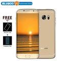 """Оригинальные Bluboo Край 4 Г Смартфон MTK6737 Quad coresAndroid 6.0 13.0MP Отпечатков Пальцев OGS Дисплей 5.5 """"Дюймовый HD Мобильный Телефон"""