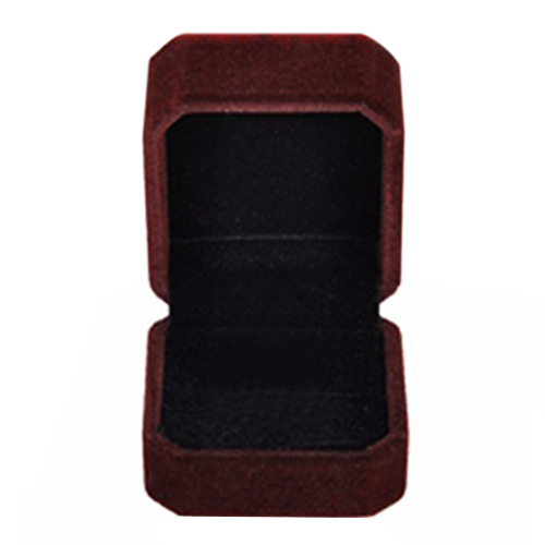 Rings Display Box Storage Soft Velvet Tray Case Holder Stand Display Storage Box Show Jewelry Organizers Rectangle Ring Box Dark