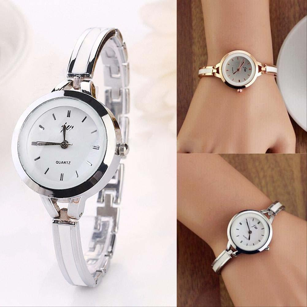 women watches watch gold set stainless tone and bangle anne klein pin bracelets s steel rose bracelet