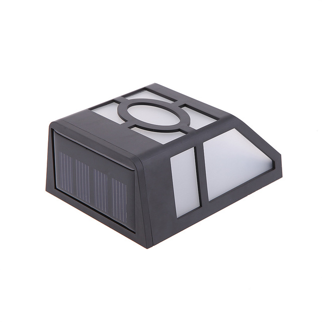 hot sell waterproof solar wall lamps ABS Solar LED Path Light Outdoor Garden wall lightings Yard Path Fence Lamp
