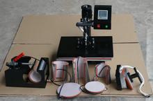 2017 NEW model 110V 220v Mug Plate Stone photo T shirt Heat press Machine Digital Control