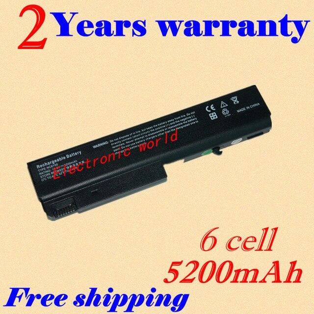 Jigu bateria para hp compaq nx6110 nx6120 nx6125 nc6400 nc6120 hstnn-db28 hstnn-fb05