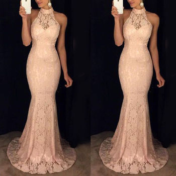 CLOSEOUT NUDE Evening Pageant Long Evening Formal dress
