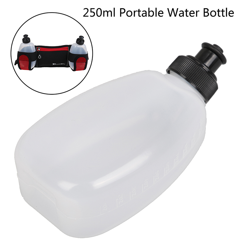 1Pcs 250ML Portable Water Bottle Sports Bike Running Infuser Jogging Hiking Gym