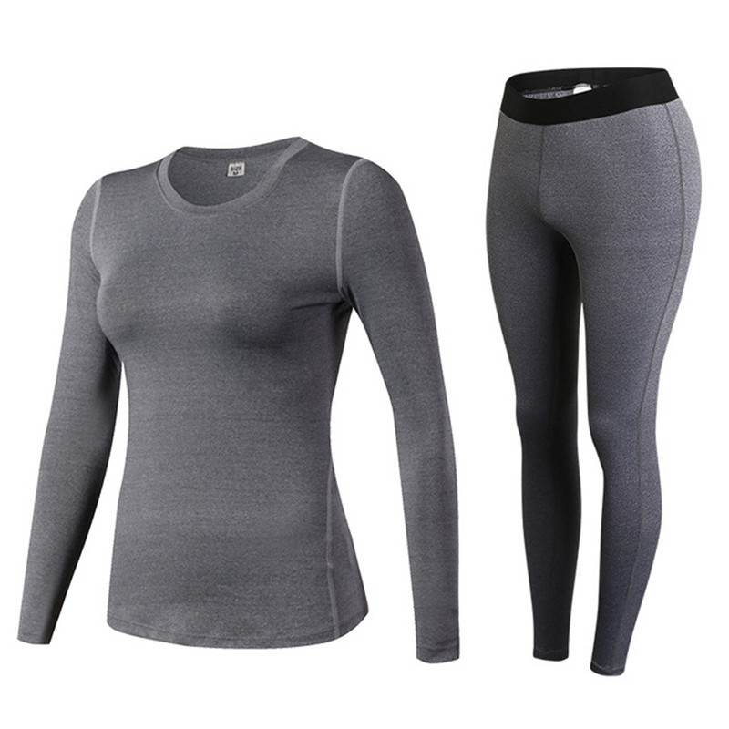 Winter Thermal Underwear Women Winter Clothes Quick-dry Technology Surface Thermo Underwear Women Long John Femme Roupa Termica