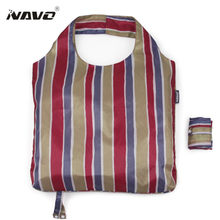NAVO Folding Shopping Bag Eco-friendly Foldable Reusable Grocery Bags Light Weight Shoulder Tote Bags Sac Cabas(China)