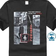 Mens Black T Shirt Clash Complete Control Joe Strummer London Punk 1977 S 5Xl недорого