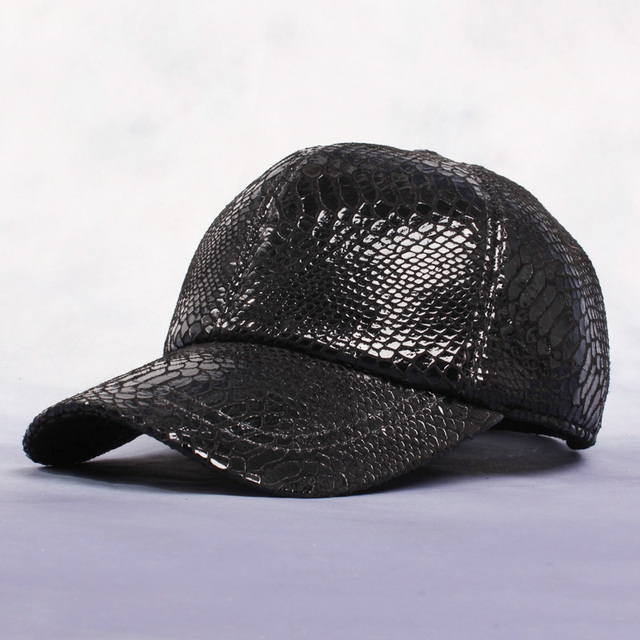 Autumn And Winter Casual Caps High Quality Cowhide Baseball Hats Male Genuine Leather Hat Male Outdoor Cap For Man