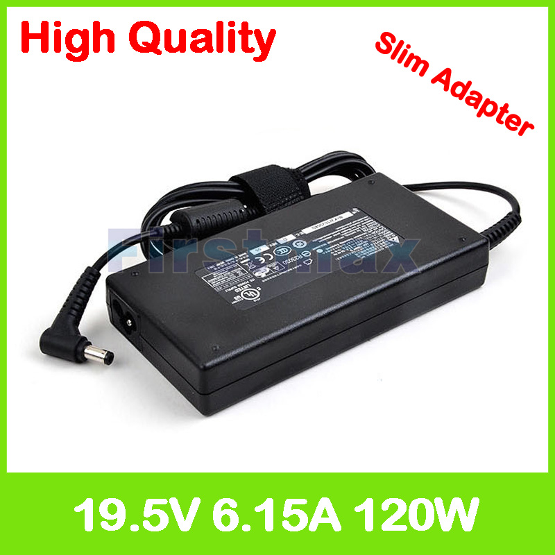 Slim 19.5V 6.15A 19V 6.32A laptop charger ac power adapter for Clevo W230SD W230SS W350ET W350ETQ N155SC N155SD M57TU M57U M57X