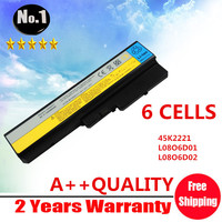 Wholesale New Laptop Battery FOR Lenovo Y430 L08O6D01 45K2221 L08O6D01 L08O6D02 L08S6D01 Ideapad Y430 IdeaPad V450
