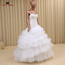 QUEEN BRIDAL Custom Size Ball Gown Wedding Dresses