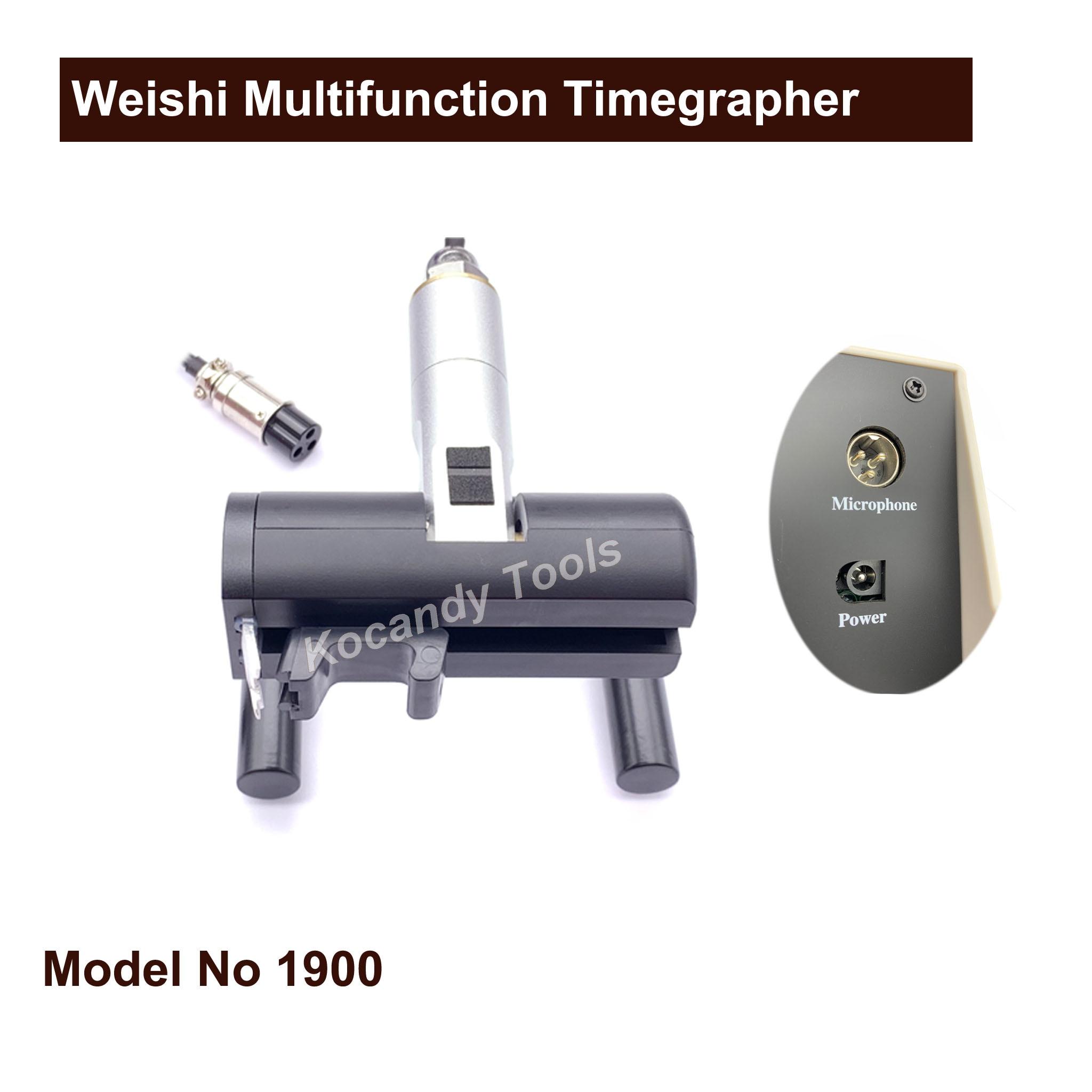 Weishi 1900 Multifunction Timegrapher, Professional Watch Timing 기계 Multifunction Timegrapher 대 한 시계 제조 Repair 툴-에서수리 도구 & 키트부터 시계 의  그룹 2