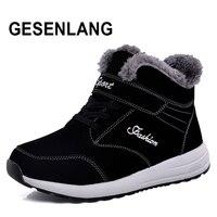 Winter Men Women Sneakers Running Shoes Plus Velvet Warm Sport Shoes Ladies Snow Walking Outdoor Tourism Male Shoes Big Size NEW