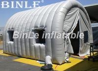 6mLx4. 6mWx4. 1mH портативный надувные гараж, Палатка Надувные Краски Красильной крышка автомобиля ремонтная мастерская стирка shelter