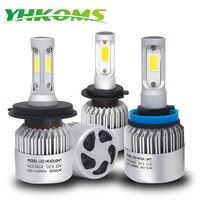 YHKOMS Car Headlight H4 H7 LED H1 H3 H7 H8 H9 H11 9005 9006 HB4 9004