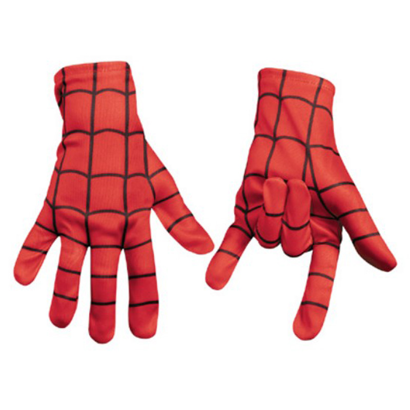 New Style <font><b>Children</b></font> <font><b>Spiderman</b></font> <font><b>Gloves</b></font> as Gift for Kids Matching Superman Cosplay Costume