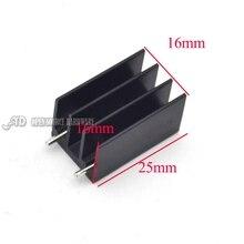 25*16*16 ММ Транзистор MOS трубки специальный алюминиевый радиатор алюминиевый радиатор