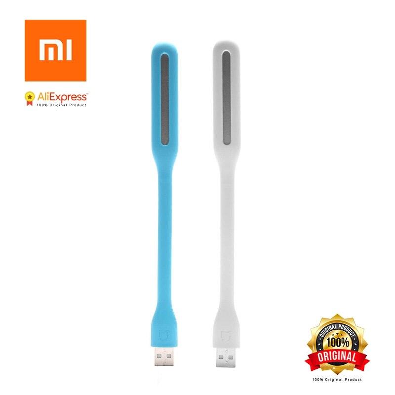 D'origine Xiaomi USB Lumière Version Améliorée avec Interrupteur pour Power Comupter Bancaire Portable Brillant LED Lampe