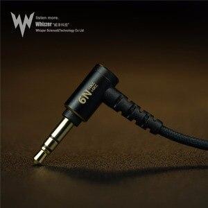 Image 5 - Whizzer A15 Pro HIFI écouteur 1DD hybride IEM technologie types intra auriculaires avec MMCX remplaçable câble conception coque en alliage daluminium