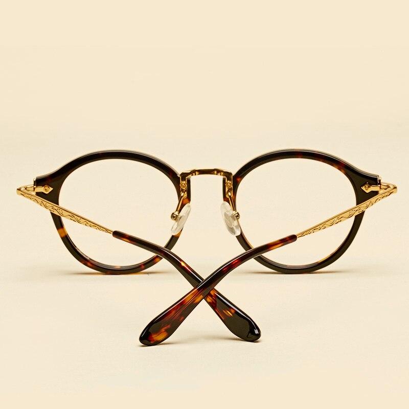 LIYUE Vroča prodaja Ovalna očala z jasnimi lečami Modni Retro - Oblačilni dodatki - Fotografija 5