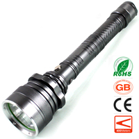 Zoomable LED Flashlight Car Charger CREE T6 Emergency Outdoors Sports Light Rechargeable Zoom Long Range Torch Hiking Hunting