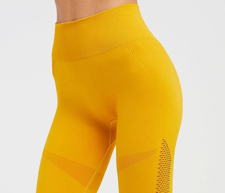 Controle Do Esporte Da Aptidão Ginásio Leggings calças Justas Atlético Saque