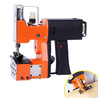 Portable Electric Sewing Machine Household Multifunction Crafting Mending Kit for Home Textile Industrial Bag Closer Stitching