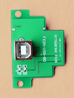 FX2N-USB-BD USB interface Board for FX2N PLC FX2NUSBBD FX2N-USBBD communication board free shipping new in box