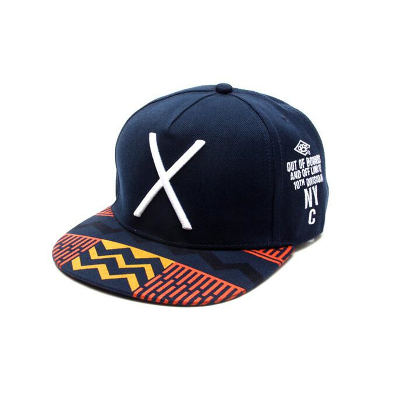 extra deep baseball caps high crown new font blue fashion hats