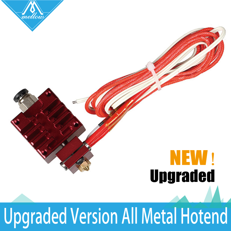 NEW!All-metal high-end RedV6 Long distance J-head Hotend for 1.75mm Extruder 0.4 Nozzle Full Kit for  3D Printer 3d printer accessory reprap j head mkiv mkv hotend nozzle wade bowden extruder for choice top quality free shipping
