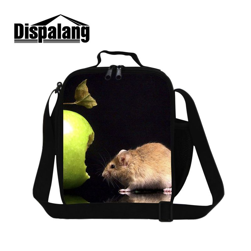 Dispalang Hot Sale Portable Food Containers For Kids School Office Take-away Shoulder Bags Ice Pack Cooler Bag Thermal Lunch Bag ...
