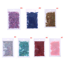 10g/pack Four Star Glitter Diy Crystal Slime Supplies Ultra-thin Slices Nails Art Tips Box Accessories Decoration Toys For Kids(China)