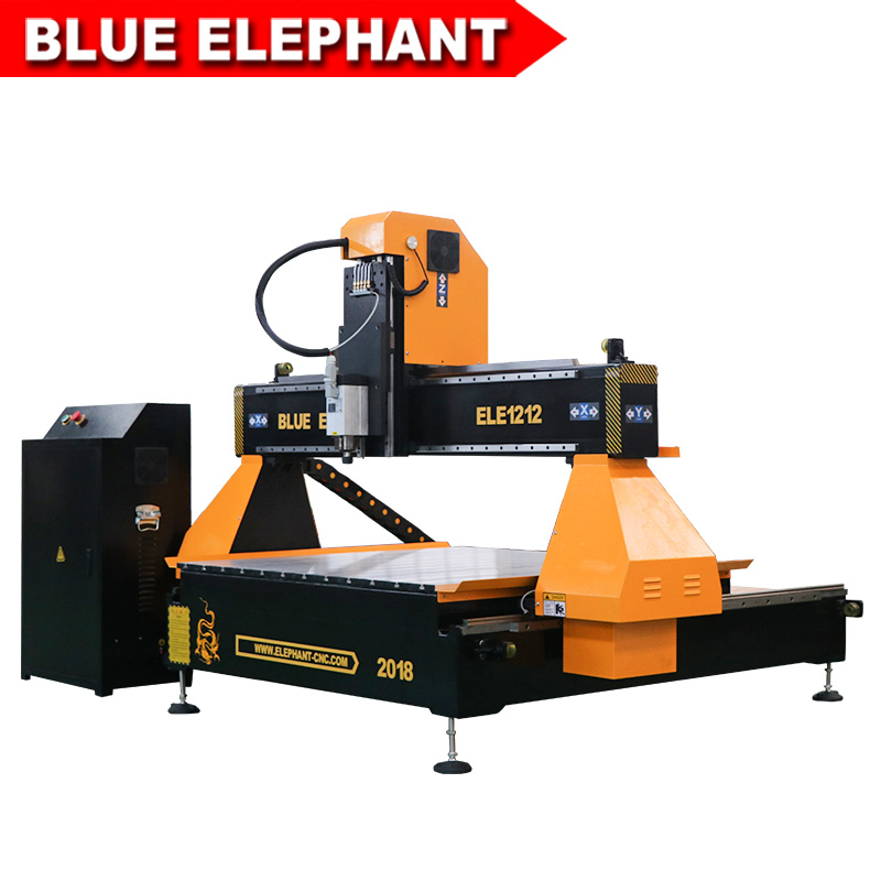 1212 Cnc Router 1.5kw Air Cooling Spindle 1200*1200*300mm Working Area, Independent Control Box