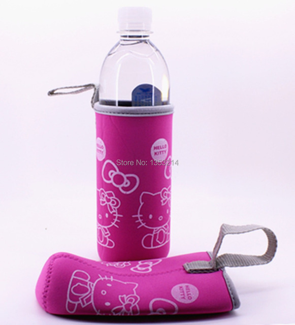 Hello Kitty Cartoon cup sets Mug sets Beer sets Neoprene Cup sets / 2pcs Pink/Outdoor products