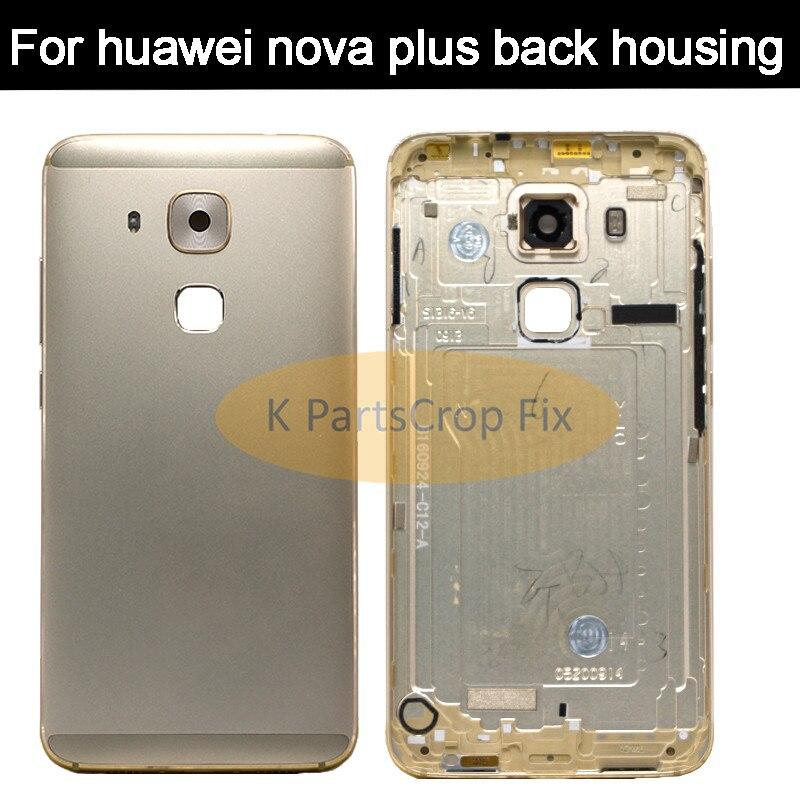 Rear Housing New Battery Door Back Cover Housing Case For Huawei Nova Plus TD-LTE MLA-L01 MLA-L11 MLA-L02 MLA-L03 replacement