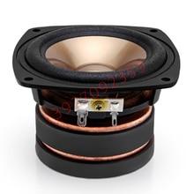 1PCS Original Japan AKISUI 4'' Full Frequency Speaker Driver Unit Casting Aluminum Frame Dual Magnets Fs 60Hz 4ohm 60W Square