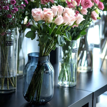 Moisturizing rose artificial flower home decoration wedding bouquet Family holding flowers