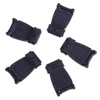 5pcs/set Backpack Strap Webbing Connecting Buckle Clips Hiking Outdoor Supplies Buckles Dual Adjustable Slimwaist Tactical