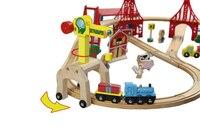 תומאס וחברים-2 יחידות רכבת פרקט תומאס מסילת אבזרים-מהלך מנוף ועוד מכרז אחד