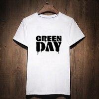Gildan Green Day T Shirt Gothic T Shirt Woman Tee Street Wear Womens Letter Print Tshirt