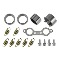 UTV Exhaust Muffler Repair Kits For Polaris RZR 800 4X4 EFI 2008 2009 2010 2011