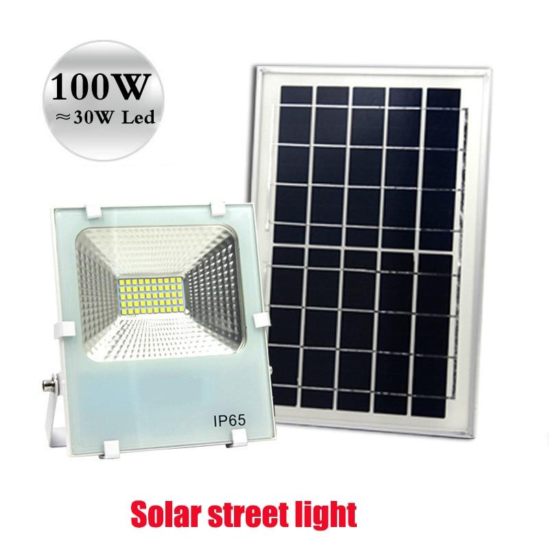 Factory Shop Solar Lights: Solar Flood Light Garden Street Factory Stall Garden