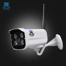 ZSVEDIO Surveillance Cameras Alarm System HD IP Camera CCTV Camera WIFI IP Cameras Wi-Fi Waterproof Night Vision Device Webcam