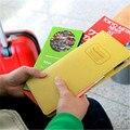 2017 new fashion Travel Wallet women men's Passport Ticket ID Credit Card Holder Cover leather Organiser Bags handbag purse