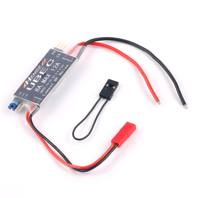 HENGE 8A UBEC Output 5V 6V 6A 8A Max 12A Inport 7V 25 5V 2 6S Lipo 6 16 cell Ni Mh Input Switch Mode BEC for RC Helicopter in Parts Accessories from Toys Hobbies